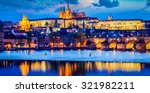 Panorama Of Prague Castle And...