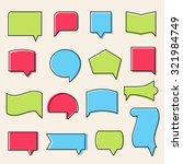vector outline communication... | Shutterstock .eps vector #321984749