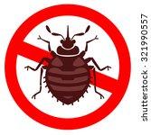 home bedbug vector illustration ... | Shutterstock .eps vector #321990557