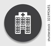 hospital  icon   Shutterstock .eps vector #321992651