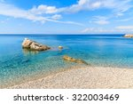 Crystal Clear Sea Water Of...