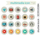 flat detailed multimedia...