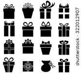vector illustrations of gifts... | Shutterstock .eps vector #322012907