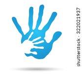 vector concept or conceptual...   Shutterstock .eps vector #322021937