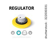 regulator icon  vector symbol...