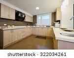 interior design  modern big... | Shutterstock . vector #322034261