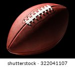 american pro football with... | Shutterstock . vector #322041107
