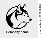 logo with head of a wolf | Shutterstock .eps vector #322058189