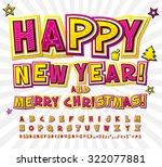 creative yellow pink high... | Shutterstock .eps vector #322077881