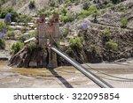sucre bridge is located over... | Shutterstock . vector #322095854