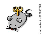 Stock vector mouse toys doodle 322097084