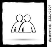 forum icon. internet button on... | Shutterstock . vector #322141109