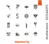 4th of july  independence day... | Shutterstock .eps vector #322166291