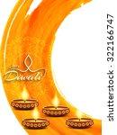 elegant card design of... | Shutterstock .eps vector #322166747