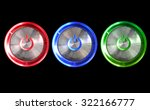 abstract power computer button... | Shutterstock . vector #322166777