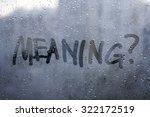 autumn rain  the inscription on ... | Shutterstock . vector #322172519