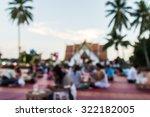 market fair in abstract blur...   Shutterstock . vector #322182005