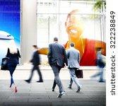 business people walking... | Shutterstock . vector #322238849