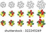 "geometric logos ""drawers"" | Shutterstock .eps vector #322245269"