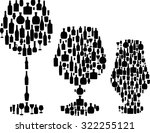 illustration with different... | Shutterstock .eps vector #322255121