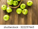 Organic Granny Smith Apples On...