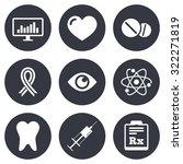 medicine  medical health and... | Shutterstock .eps vector #322271819