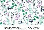 Seamless Flower Pattern. Vecto...