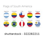 circle flags of the world.... | Shutterstock .eps vector #322282211