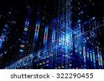 digital technology abstract... | Shutterstock . vector #322290455