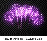 Festive Lilac Firework...