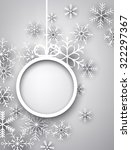 christmas background with... | Shutterstock .eps vector #322297367