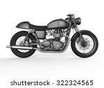 motorcycle side view | Shutterstock . vector #322324565