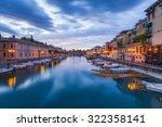 climate port in peschiera del... | Shutterstock . vector #322358141