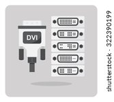 Vector Of Flat Icon  Dvi...