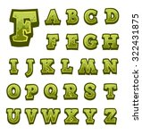 green stone game alphabet