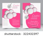 brochure template. business... | Shutterstock .eps vector #322432397