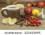 a flu epidemic. traditional... | Shutterstock . vector #322433495