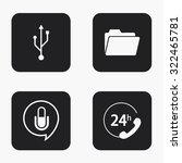 vector modern technology  icons ...