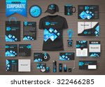 corporate identity business... | Shutterstock .eps vector #322466285