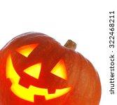 jack o' lantern halloween... | Shutterstock . vector #322468211