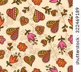 seamlessvalentines pattern with ...   Shutterstock .eps vector #322469189