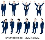 illustration of men | Shutterstock .eps vector #32248522
