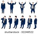 illustration of men | Shutterstock .eps vector #32248522