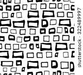 vector seamless ink rectangles... | Shutterstock .eps vector #322489997