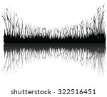 vector grass  | Shutterstock .eps vector #322516451