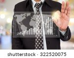 business man in shopping mall. | Shutterstock . vector #322520075