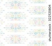 tribal ethnic seamless pattern... | Shutterstock .eps vector #322520804