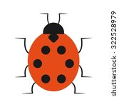 insect  nature  icon vector... | Shutterstock .eps vector #322528979