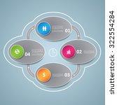 business plan template | Shutterstock .eps vector #322554284