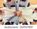 business  people  cooperation... | Shutterstock . vector #322557839